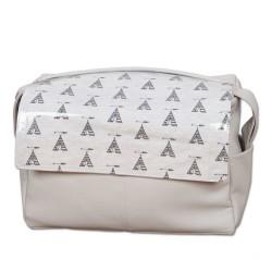 Tepee bag Gray