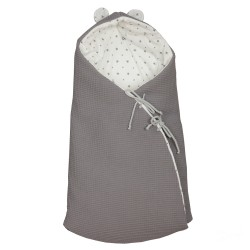 Cuco bag Little Star Gray