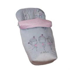 Bag Silla + Mittens Cute Ballerina