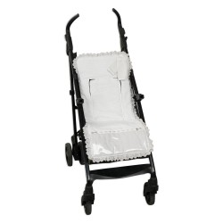 Reversible mat Lightweight chair with Gray Line Harness Covers