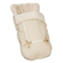 Saco Bugaboo Leather Beige