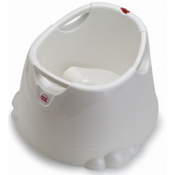 Shower bath seat Opla White Transparent