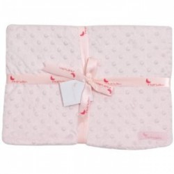 Pink blanket for baby Interbaby