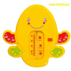 Bath thermometer snorkel yellow Octopus