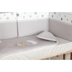 Crib Quilt 70 x 140 Series 38 Paratrooper PROTECTOR NOT INCLUDED
