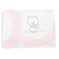 Sheet Set pink car Pepo