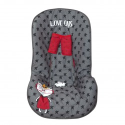 Auto Chair Carrying Case Love cats