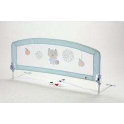 Cascade barrier 150 cm bed Baby Blue (trundle beds)