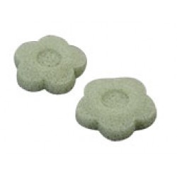 Konjac Sponge Natural Flower Green
