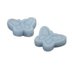 Natural Konjac Sponge Blue Butterfly