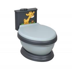 Orinal Musical WC Jirafa Gris-Negro