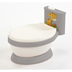 Urinal Giraffe Gray