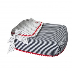 Carrycot coverlet Marinero