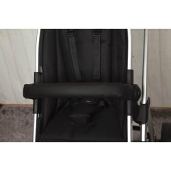 Black leatherette cover bar
