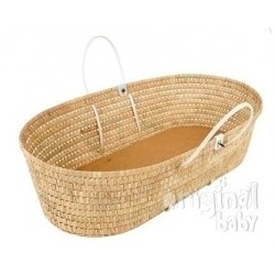 Carrycot wicker basket