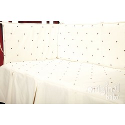 Duvet 60 x 120 Lucia Choco beigePROTECTOR NOT INCLUDED