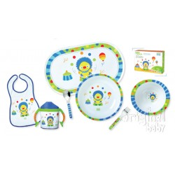 New Dishes 7-piece Baby circus