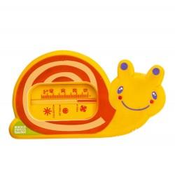 Bathroom thermometer orange snorkel