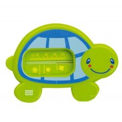 Green snorkel bath thermometer
