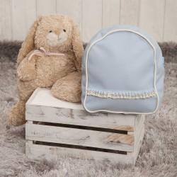 Nursery backpack poly skin celeste
