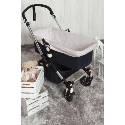 Bassinet covers Pique Gray