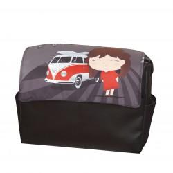 Aloha baby girl leatherette bag