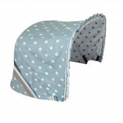 Bugaboo carrycot coverlet carousel verde