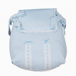 Celeste Classic car carrycot coverlet