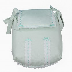 Classic car carrycot coverlet Agua Verde