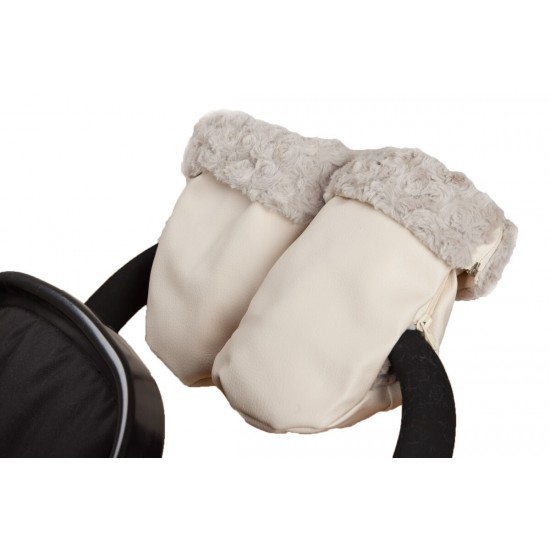 Paseo Mittens Black Leatherette