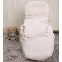 Classic baby bag 3 uses pink baby