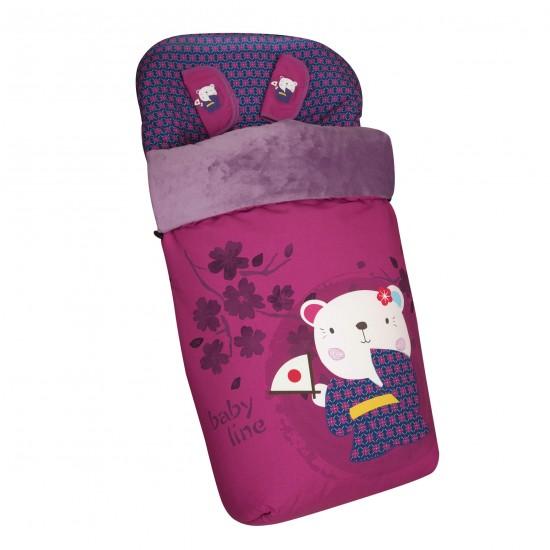 Baby bag chair ride Japan Girl