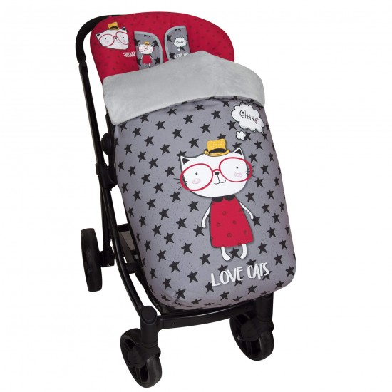 Baby bag chair ride Love Cats